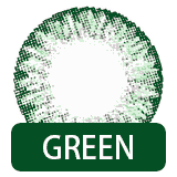 グリーン カラコン